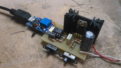 USB to LNB power supply: how I converted my HackRF to a spectrum